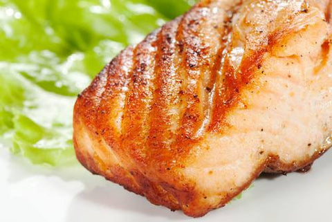 Salmon: Frozen Wild Sockeye Salmon 6 ounce portions for $14.99 per pound*