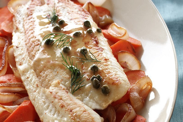 Sole: Fresh Wild Pacific Petrale Sole Fillet 5 pounds for $14.99 per pound*