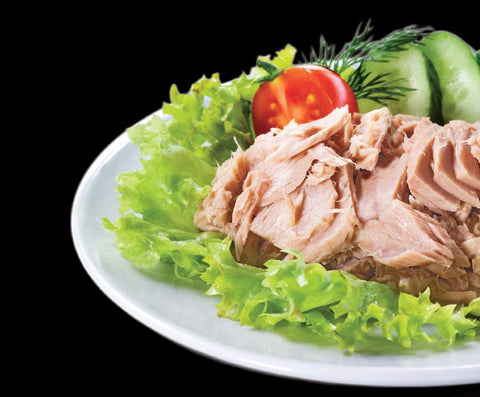 Tuna: Premium Wild Pacific Albacore Tuna Canned in Water 6 oz cans $7.50 per can*