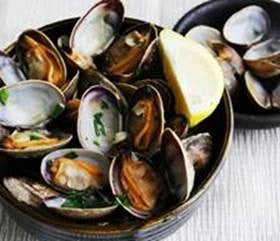 Clams: Live Steamer Clams 5 lbs: $4.99 per pound*