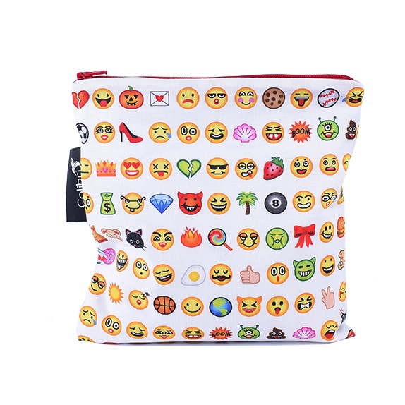 Large Snack Pouch - Emoji