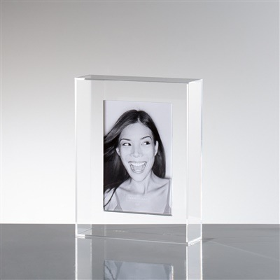 Acrylic Floating Photo Frame - 4x6