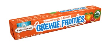 Torie & Howard Fruit Chew Stick Packs - Blood Orange & Honey