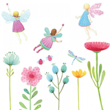 Fabric Decals - Fairy Garden
