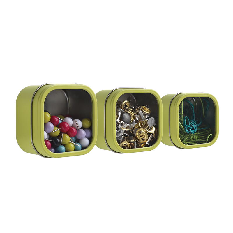 Hold Up! Storage Tins - Spring Green
