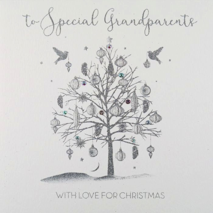 ICED SILVER - To Special Grandparents