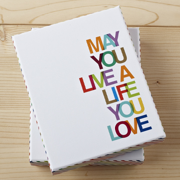 Note Card Set - May You Live a Life You Love