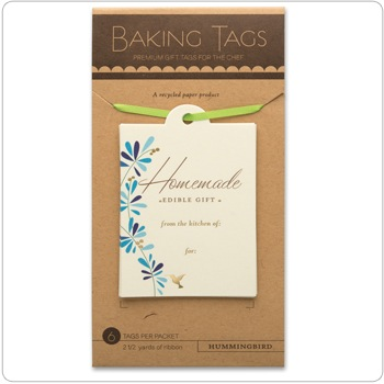 Baking Tags - Hummingbird
