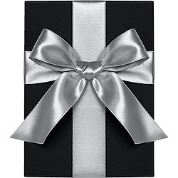 Silver Satin Ribbon 1.5""