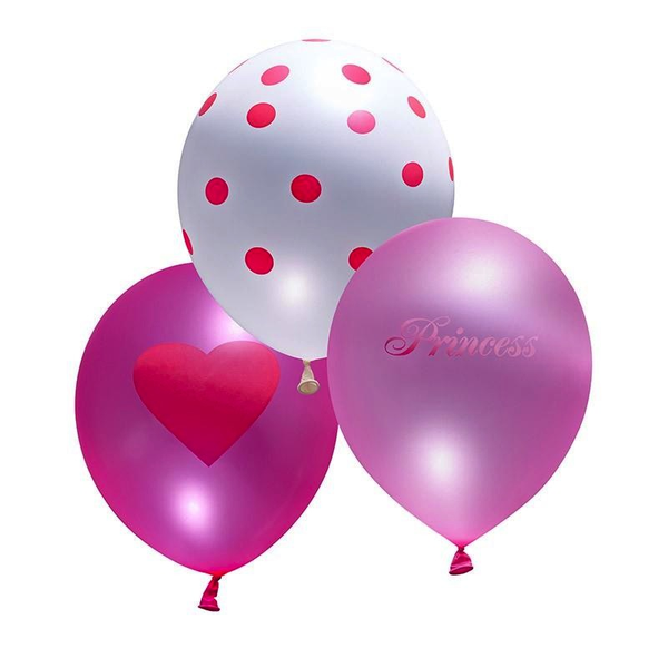 Balloons - Princess Girl