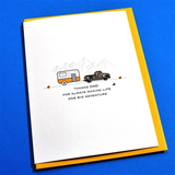 Father's Day Card - Camper