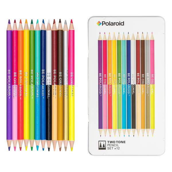 Polaroid Two Tone Spectrum Pencil Set of 12