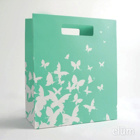 Gift Bag - Butterfly Drift (Aqua)