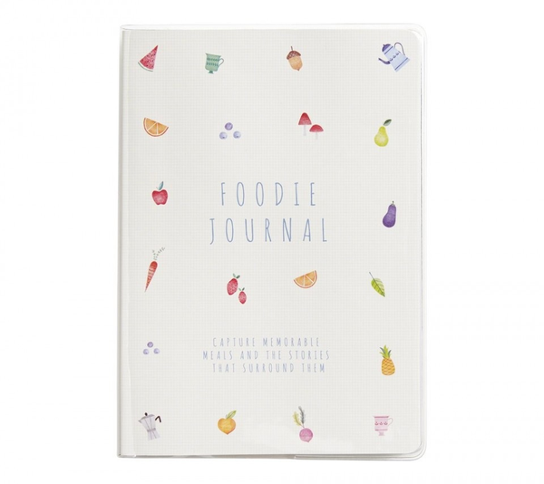 A5 FOODIES JOURNAL: FOOD LOVERS