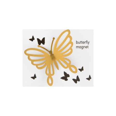 Butterfly Magnet - Gold