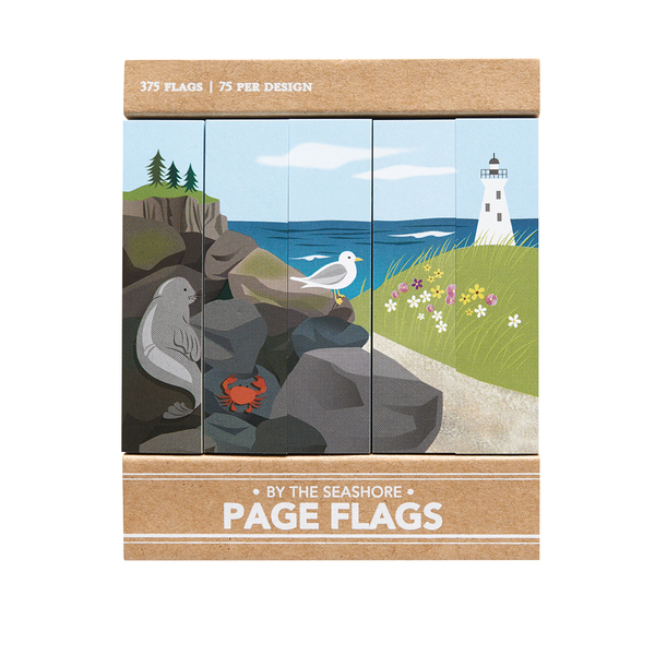 By the Sea Shore - Page Flags