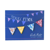 Garden Basket- Sticky Flags