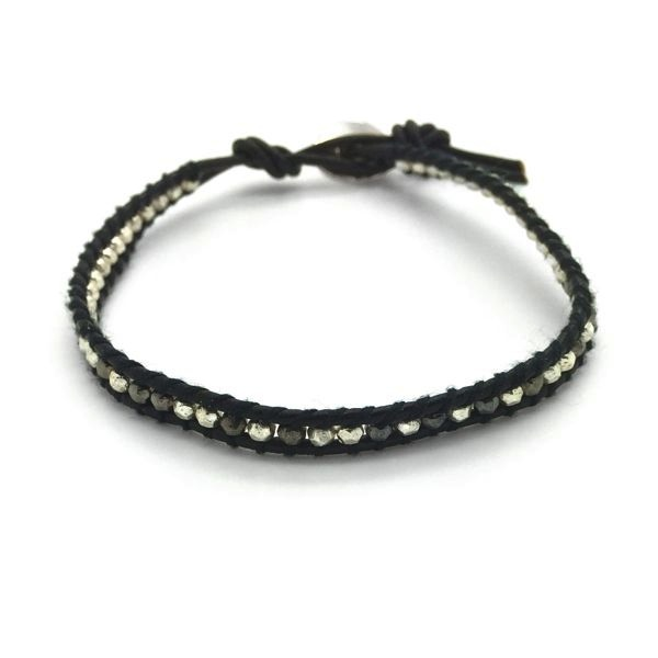 'SHINE' Single Wrap Bracelet