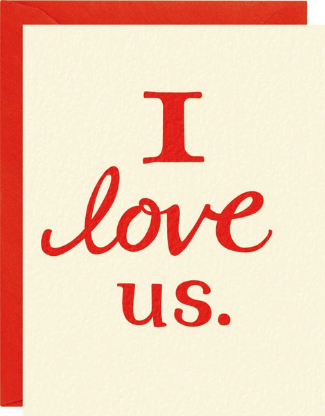 I Love Us - Valentine's