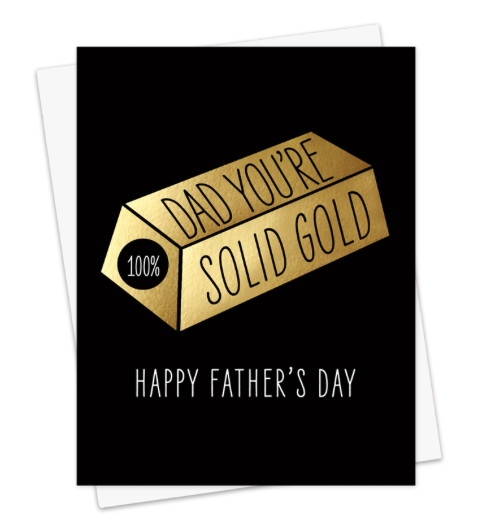 Solid Gold - Father's Day