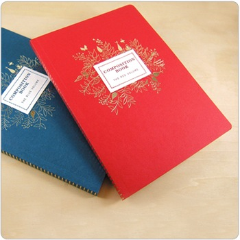 Composition Book - Crimson Red