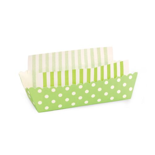 Baking Tray - Apple Green Spots