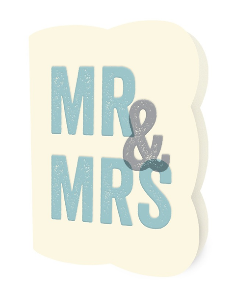 Blocky Mr. & Mrs.