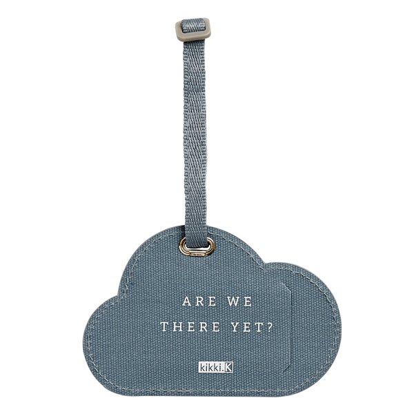 Canvas Luggage Tag World