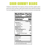 Smart Sweets Gummy Bear - Seriously Sour Low Sugar Gummy Bear