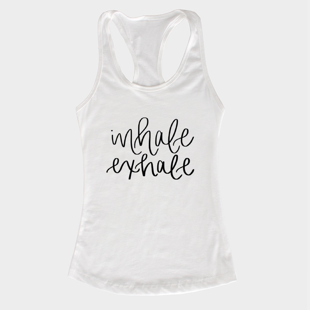 Inhale Exhale Tank - Small / White