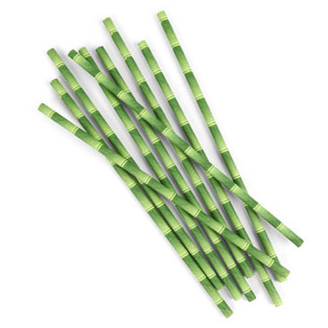 XL Paper Straws - Bamboo