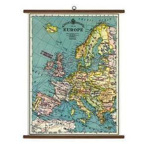 "Europe Mape - Large format 28"" x 40"""