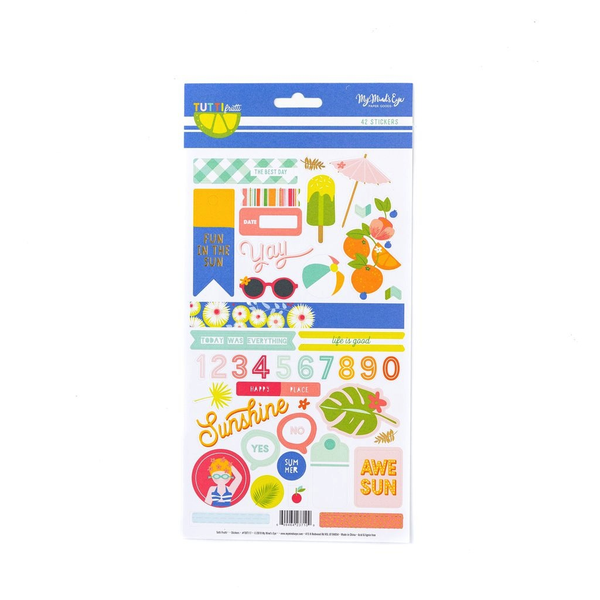Tutti Frutti Sticker Sheet