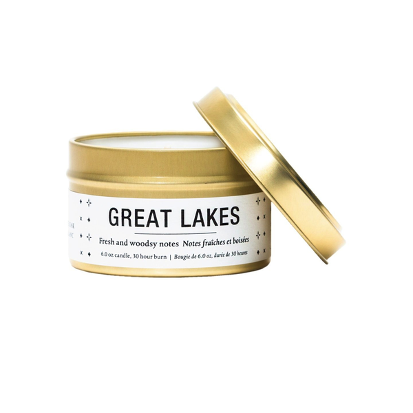 Travel Tin Soy Candle - Great Lakes