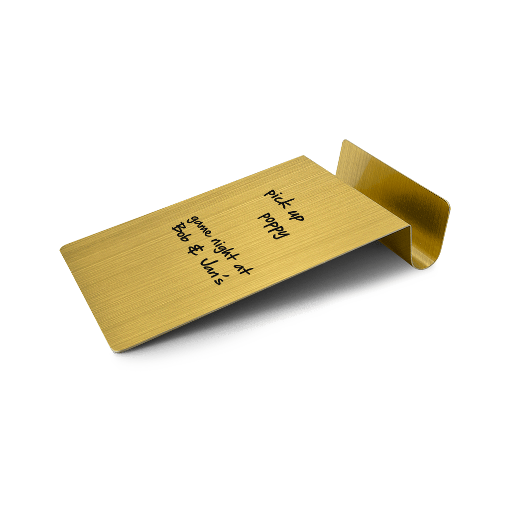 Desktop To-Do Board - Golden