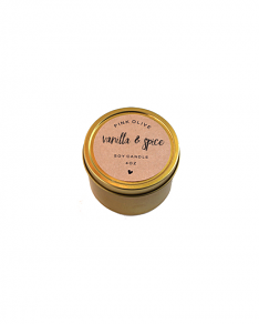 MIni Vanilla & Spice Candle