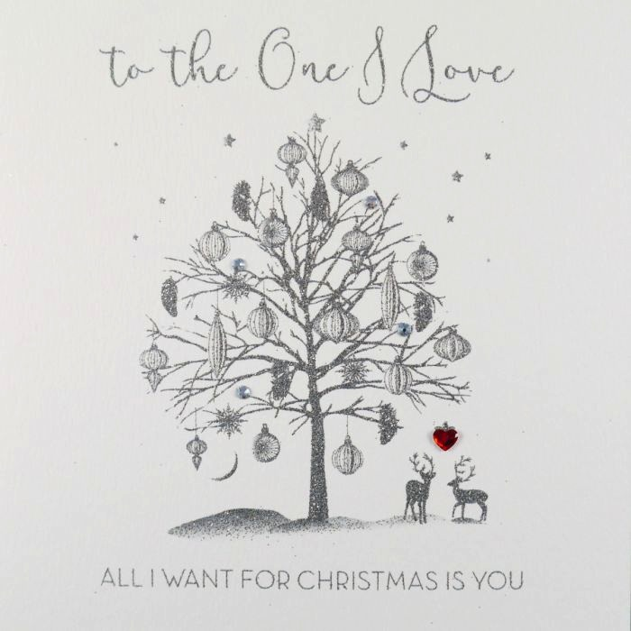 ICED SILVER - All I Want For Xmas (Tree)