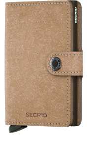 Mini Wallet - recycled natural
