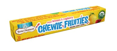 Torie & Howard Fruit Chew Stick Packs - Lemon & Raspberry