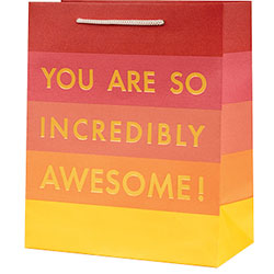 You Are Awesome Foil Small Bag