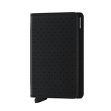 SLIM Wallet - perforated black