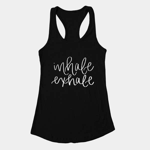 Inhale Exhale Tank - XXL / Black