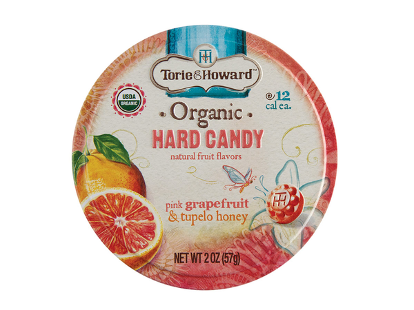 Organic Hard Candy Tin - Grapefruit & Honey