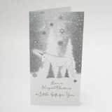 ICED SILVER WALLET - Have A Magical Christmas