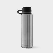 Planet Box 18 oz Stainless Steel Water Bottle - Black