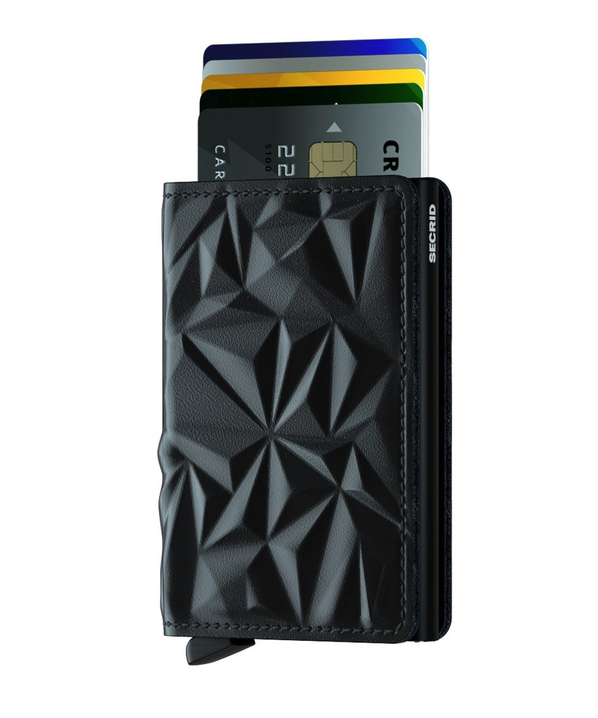 SLIM Wallet - prism black