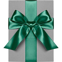 "Evergreen 1"" Satin Ribbon"