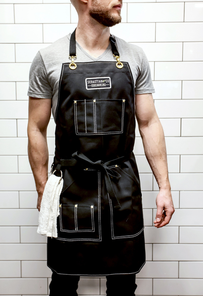 CUSTOM-DESIGNED, LOCALLY HANDMADE APRON