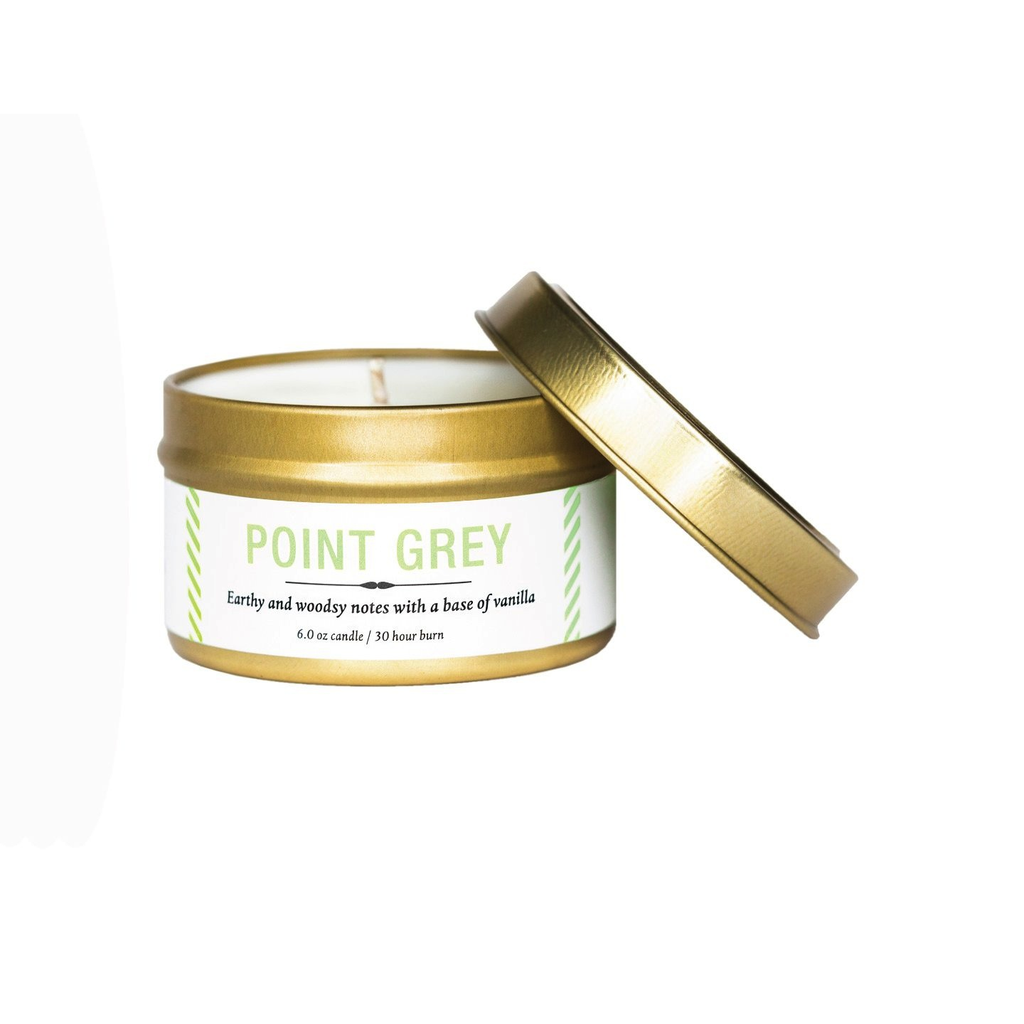 Vancouver Candle Co. -  Point Grey Travel Tin