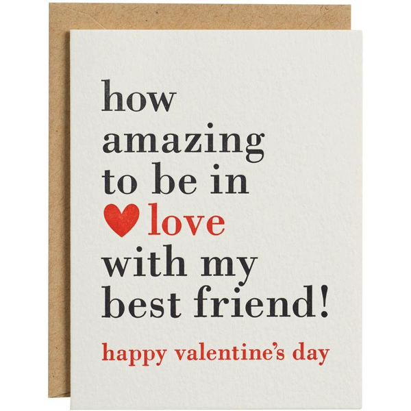 In Love With My Best Friend - Valentine's Card